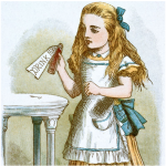 Alice, Drink Me